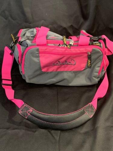 catch all gear bag pink gray hunting