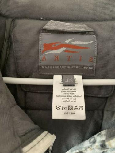 Sitka Gear Celsius Optifade Elevated II Size X