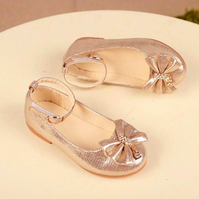 Children Kid Princess Shoes Dance Single Shoes
