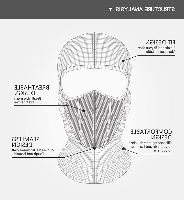 Cold weather Balaclava Ski Mask Motorcycle Hat