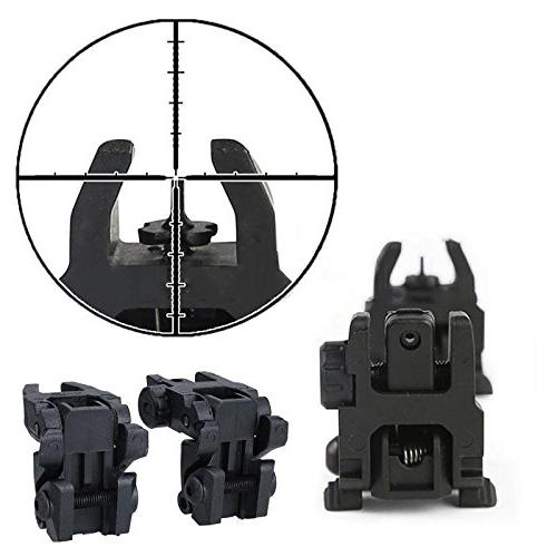 Collapsible 2 20mm Tactical Folding Front Rear Flip - Nonmoving Situated Mass Mark Deal Arrange