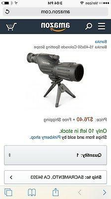 BARSKA COLORADO SPOTTING SCOPE 15-40x50mm