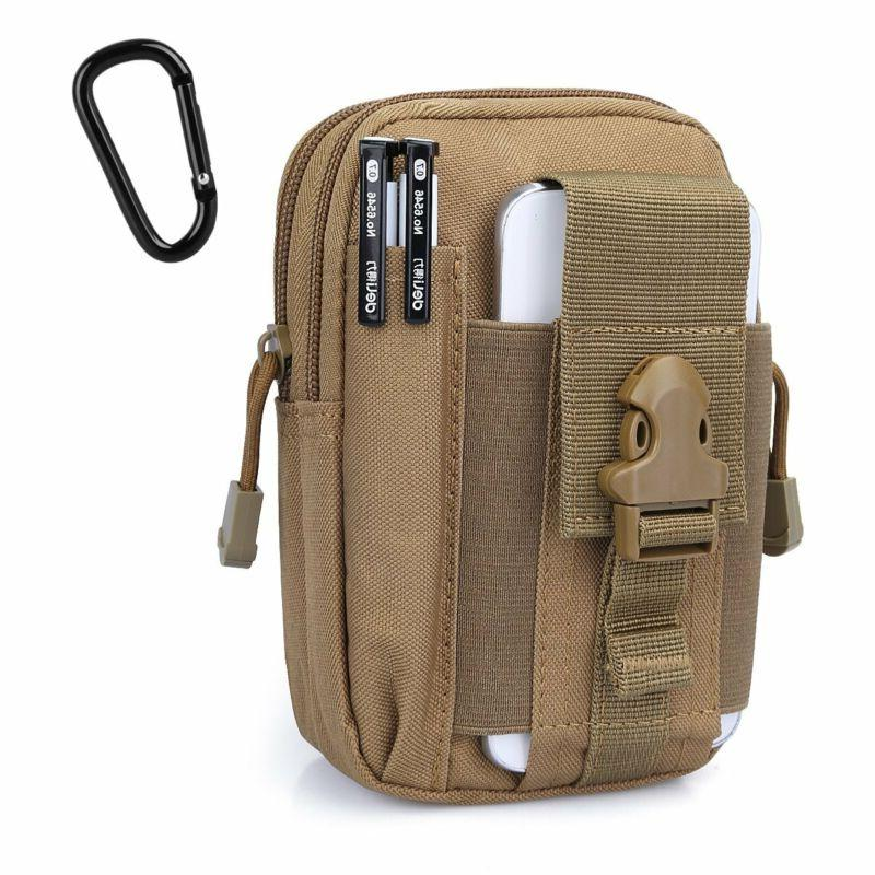 Compact Utility Tactical Pouch DayPack w/iPhone Holster