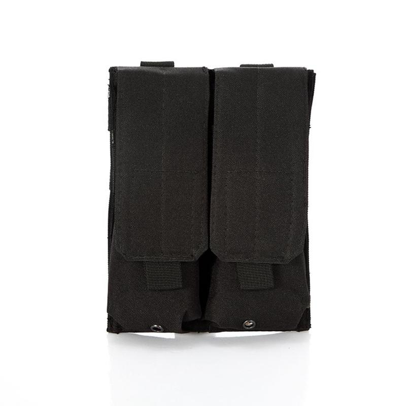 CQC Tactical Molle Double Pouch Military Airsoft Mag <font><b>Hunting</b></font>