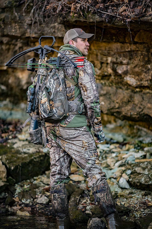 crossbow backpack hunting gear hiking realtree edge
