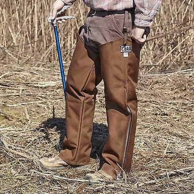 dans hunting gear snake protector chaps large