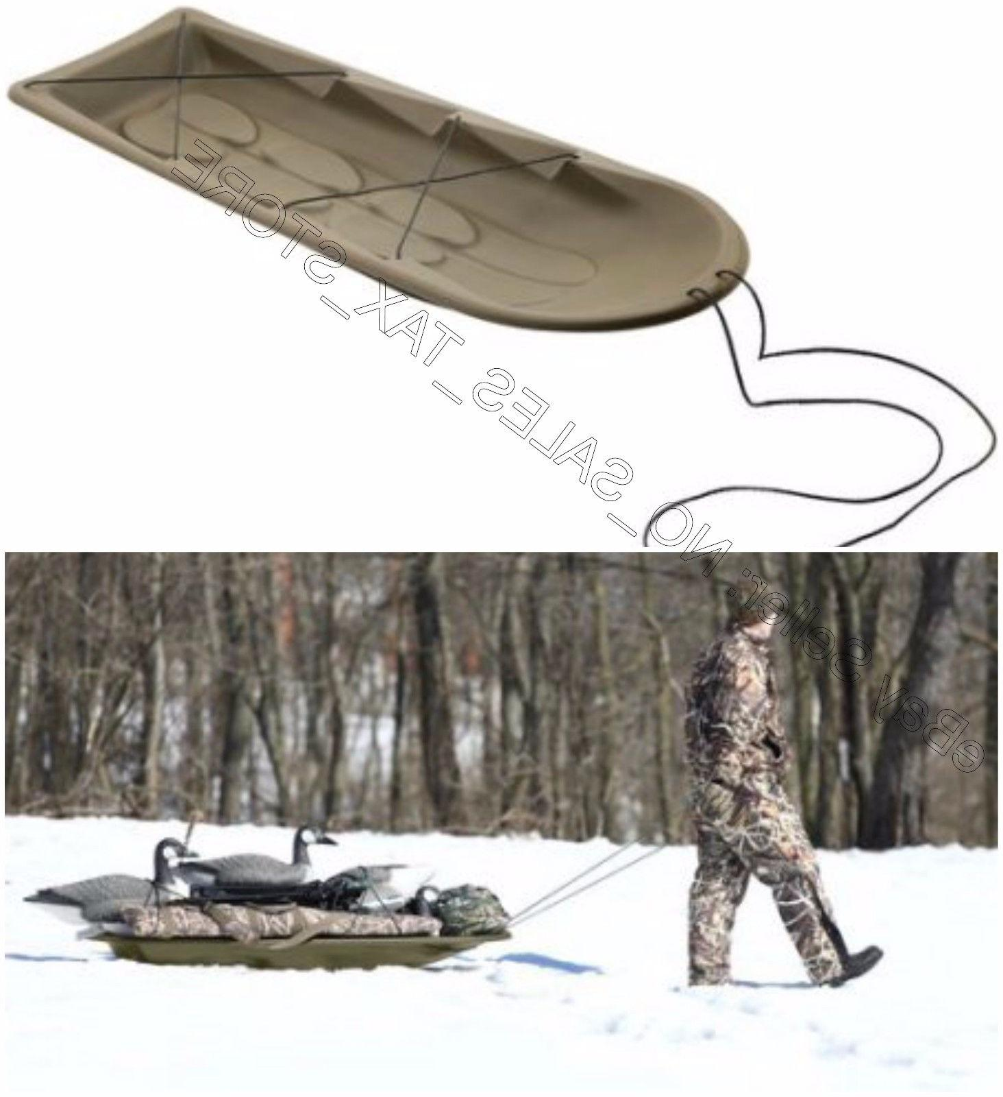 Viking Terrain Deer Drag Sled Heavy Duty Tie Down Rope Winte