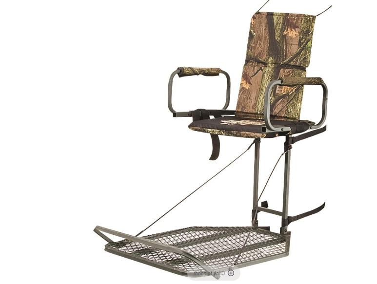 deluxe hunting hang tree stand