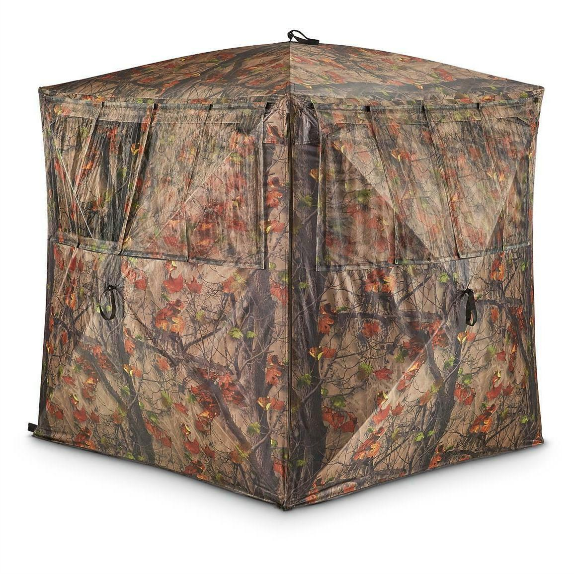durable silent adrenaline hunting blind heavy duty