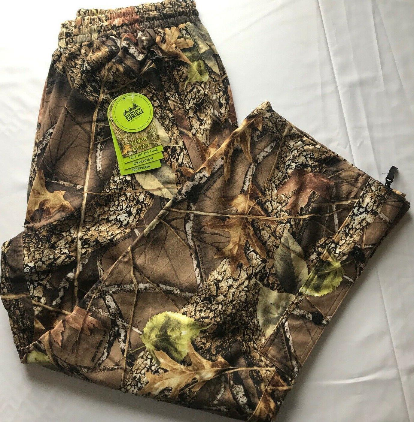 element gear burly camo waterproof pants hunting