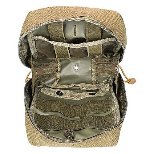 G4Free EMT Tactical Molle Medical First Aid for Vest