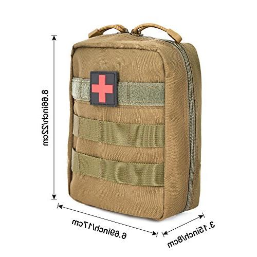 G4Free Molle Pouch First Aid Bag for Resistant