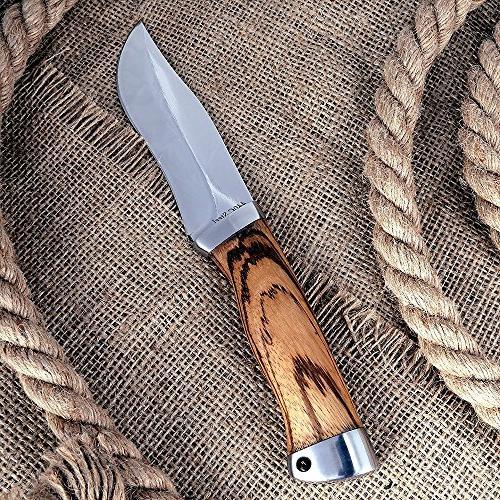 Fixed - Wood Handle Steel Blade