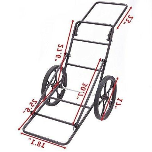 Goplus Deer Cart Capacity Hauler C