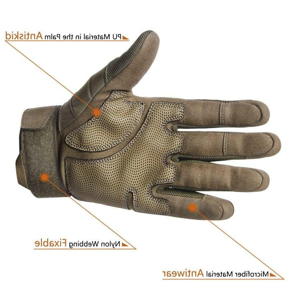 Rubber Hard Outdoor Gloves