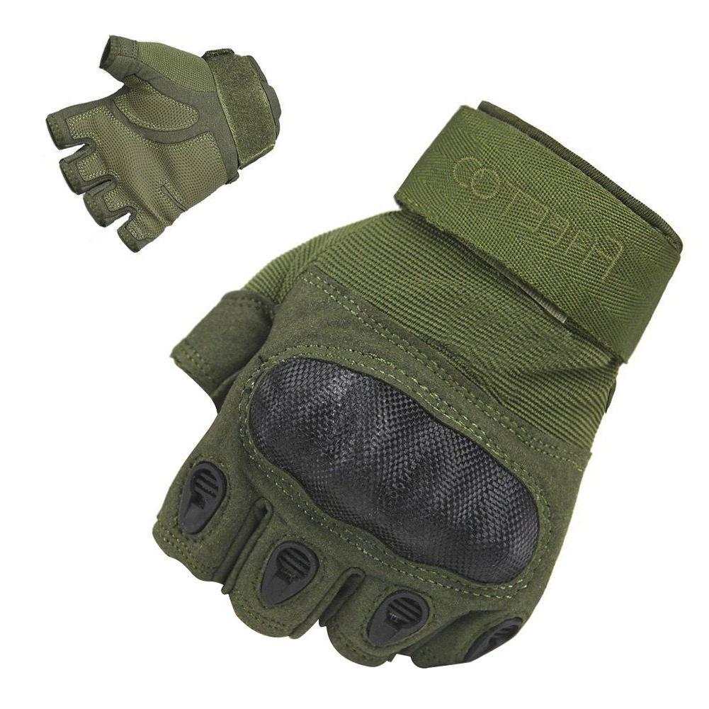 freetoo tactical gloves military rubber hard knuckle