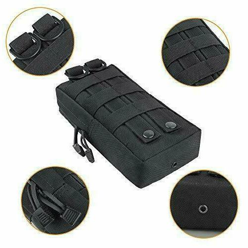 Funanasun 2 Pouches - Tactical Compact Water-Resistant Pouch