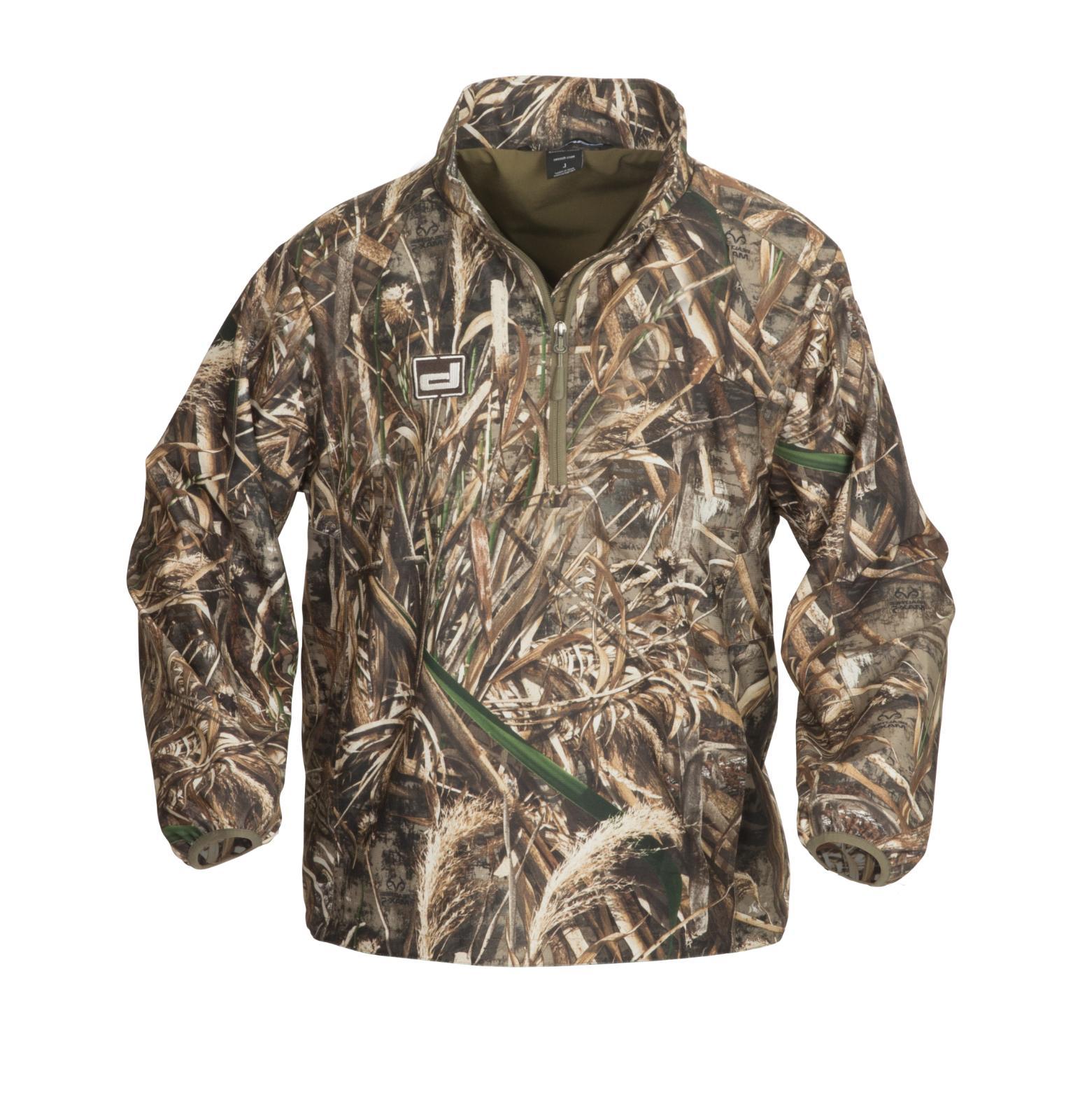 Banded Gear 1/4 Zip Pullover Jacket Windproof Coat MAX 5 Cam