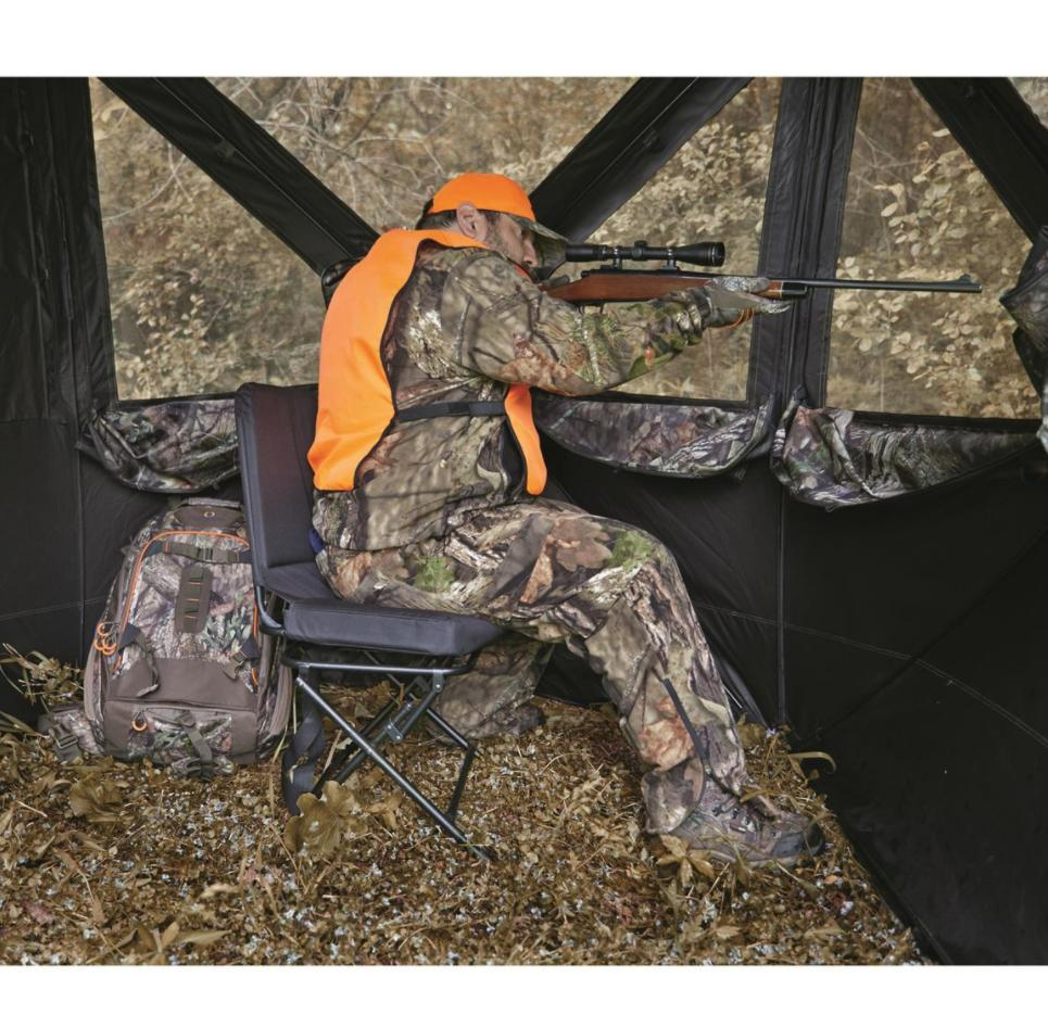 Ol Man Roost Steel Hang-On Treestand com-09 With Safety Link