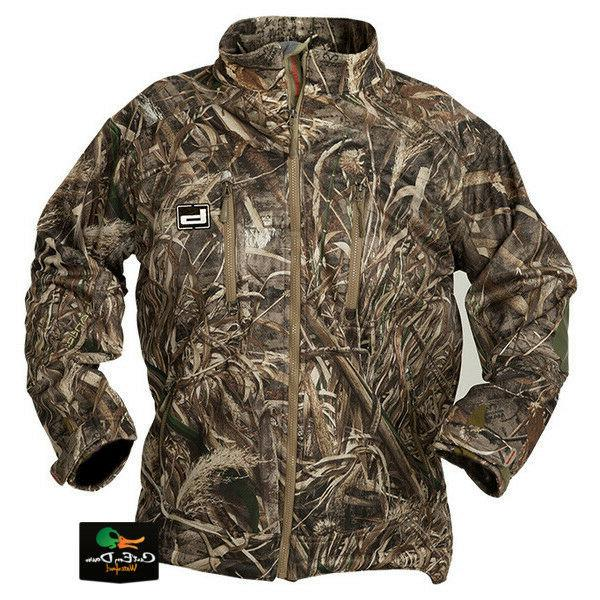 gear atchafalaya full zip jacket duck hunting