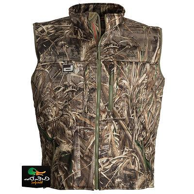 gear atchafalaya hunting vest wind proof fleece