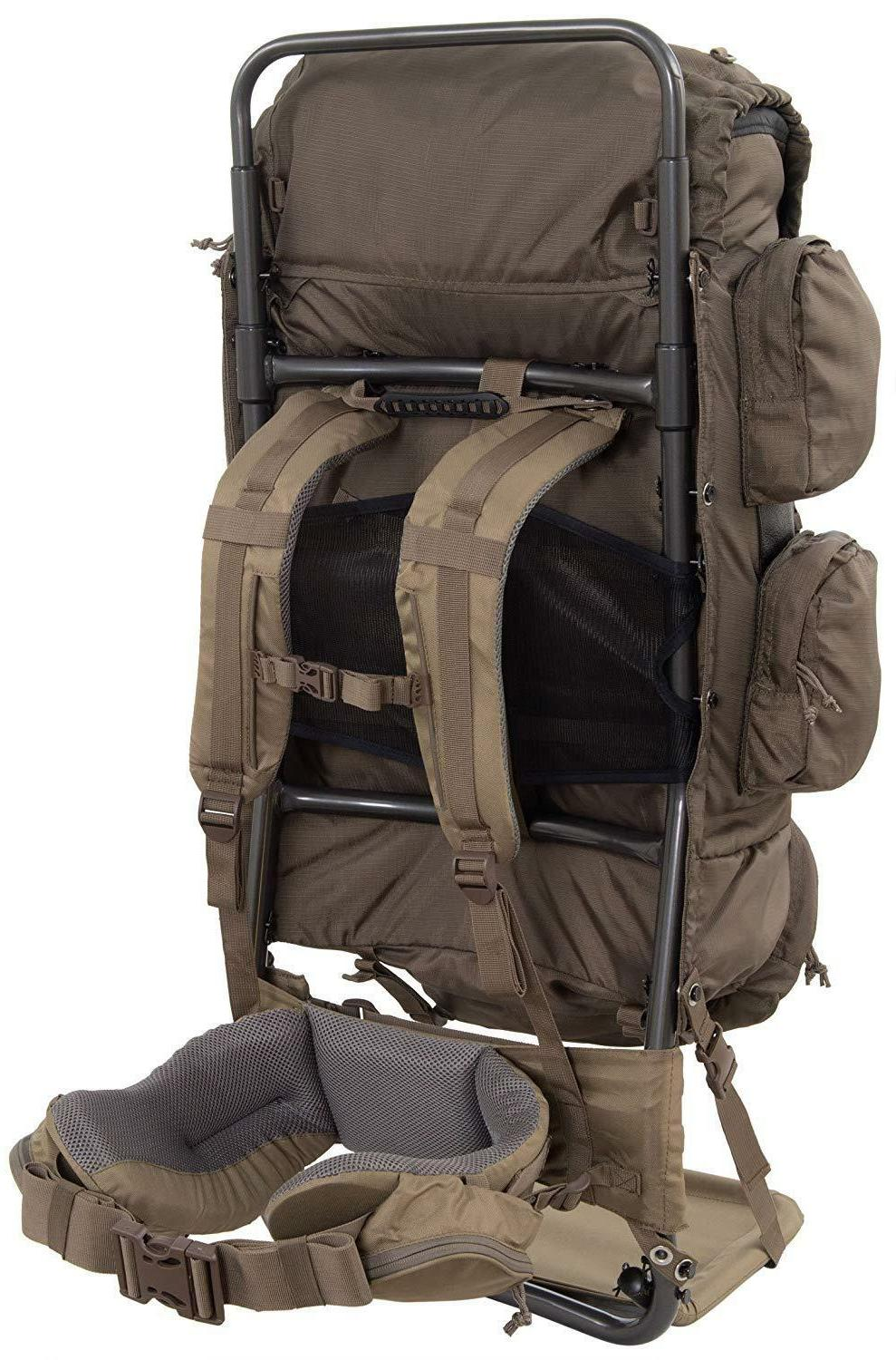 Hunting Back Frame Gear Bag Holder