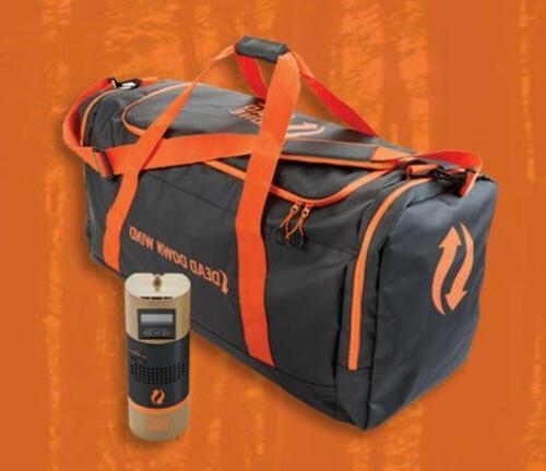 gear bag with ozone uv generator