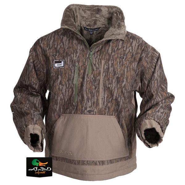 gear chesapeake pullover duck hunting coat jacket