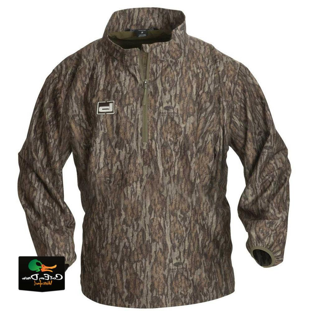 62e25442b68dc NEW BANDED GEAR WINDPROOF 1/4 ZIP PULLOVER BOTTOMLAND CAMO X