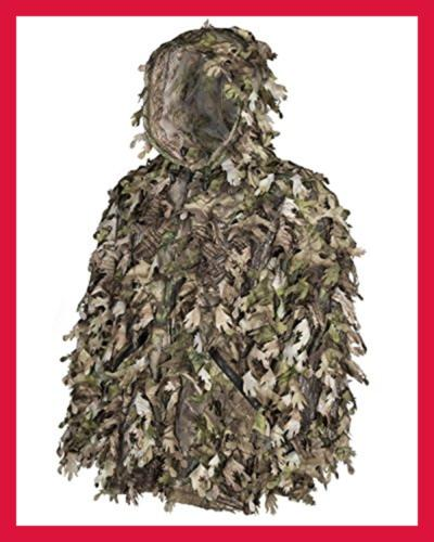 North Ghillie Suit Camo Hunting Leafy Camouflage