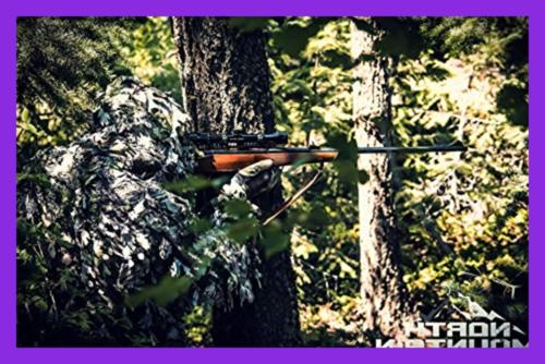 North Mountain Ghillie Suit Camo Hunting Leafy
