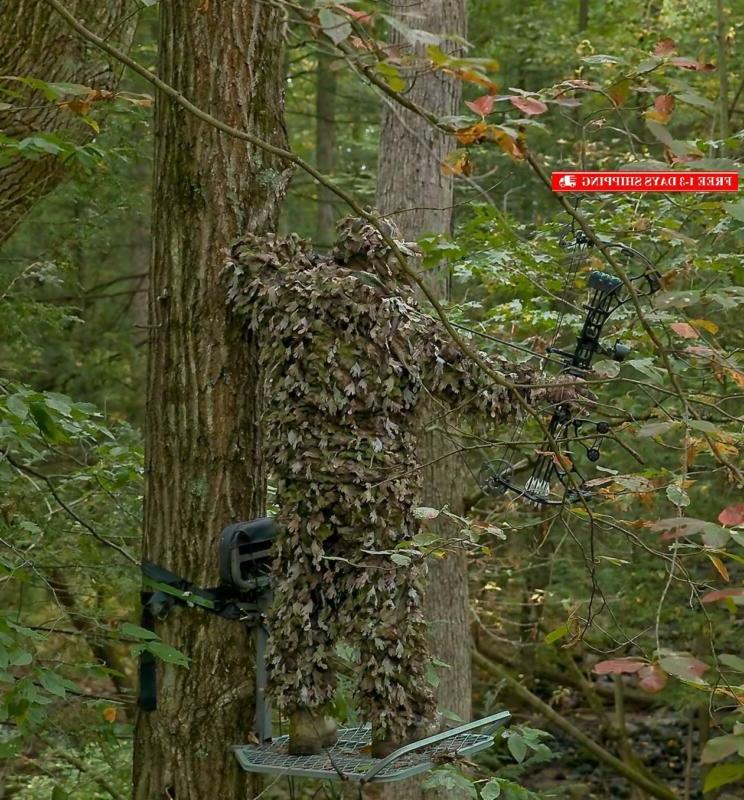 North Ghillie Suit Hunting Clothes For Solid