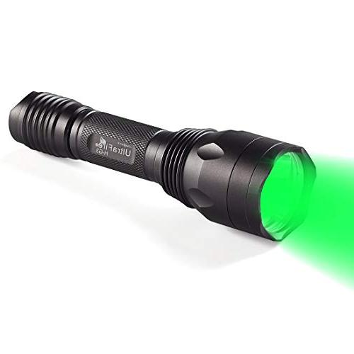 green hunting tactical flashlight