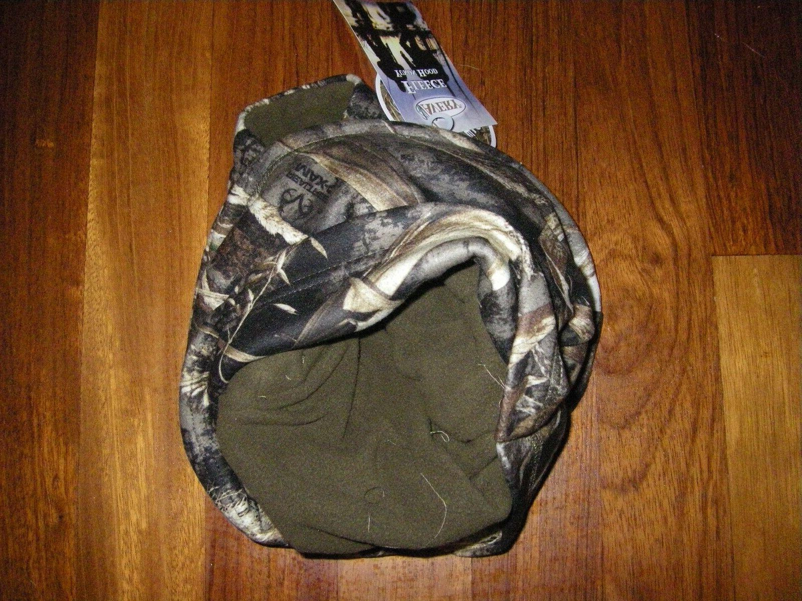 NEW Greenhead Gear Realtree Hood Polar Fleece Wind