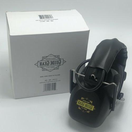 guide gear stereo electronic ear hearing protection