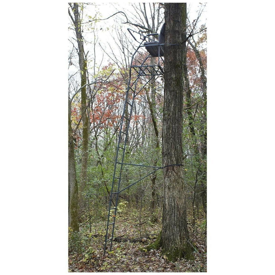Hunting 18' Ladder Flip-up