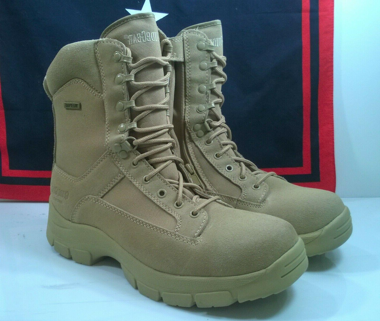 hunting duty boots tan men s 11