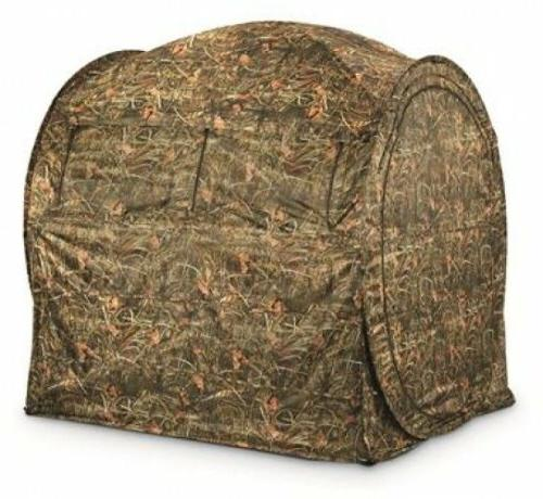 Hunting Ground Blind Field Concealment Hay Bale Bow Archery