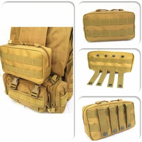 hunting storage gear molle pouch tactical airsoft