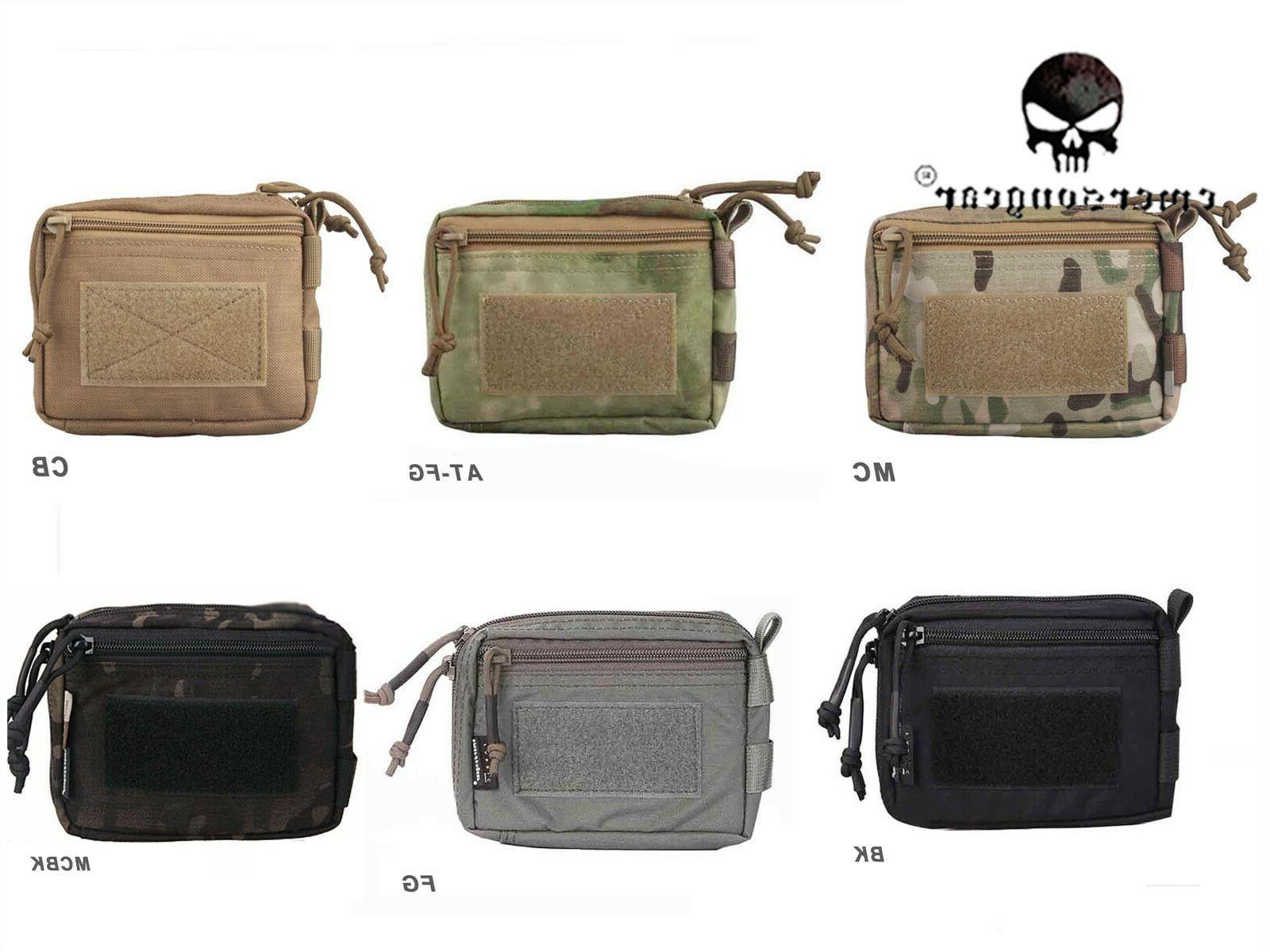 hunting tool pouch molle plug in debris