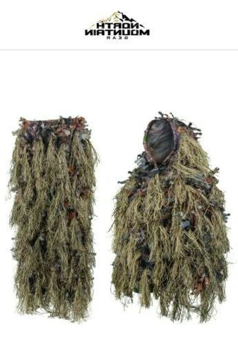 hybrid ghillie suit brown size m l