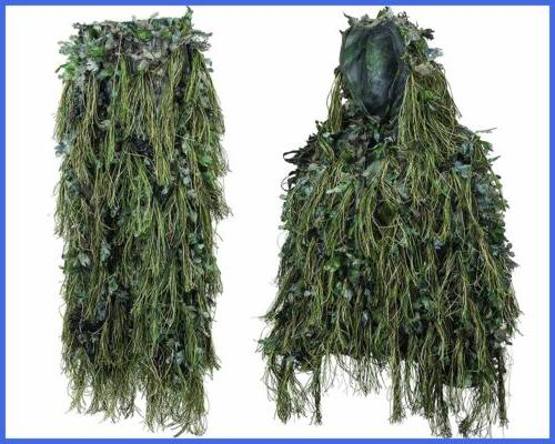 North Gear Hybrid Woodland Camouflage Suit