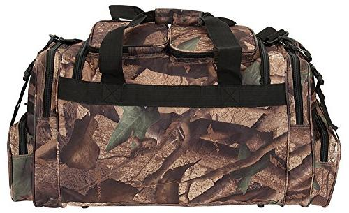 Mens Large Hunters Camo Duffle Military Molle Tactical Cargo