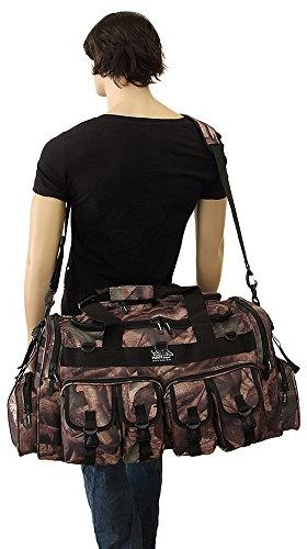 Mens Inch Hunters Duffel Military Molle Tactical