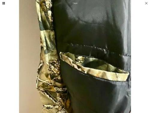 Insulated Hunting Camo Burly WFS Element Gear M-2XL