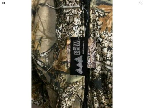 Insulated Hunting Camo Tan WFS Element M-2XL