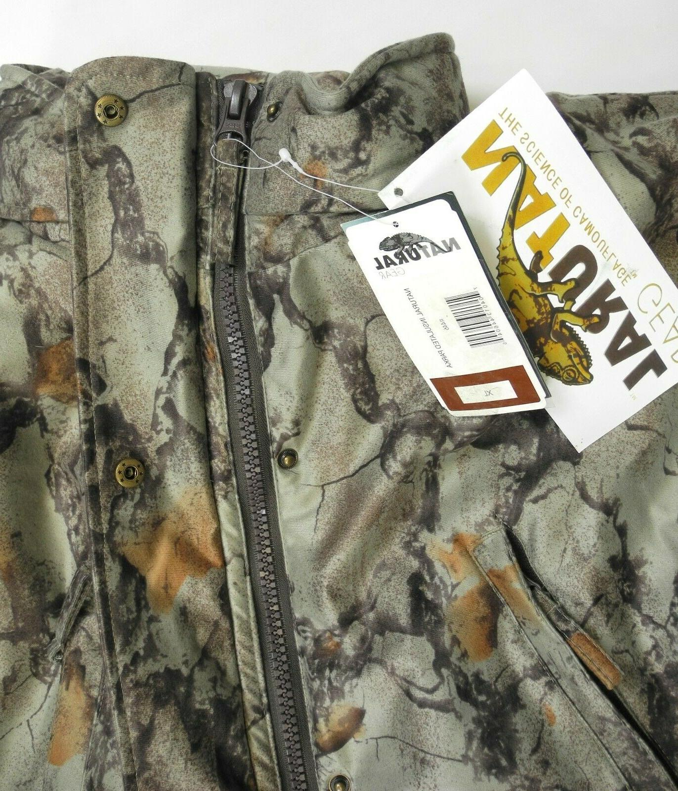 Natural Insulated - XL - Camouflage Hunting Jacket