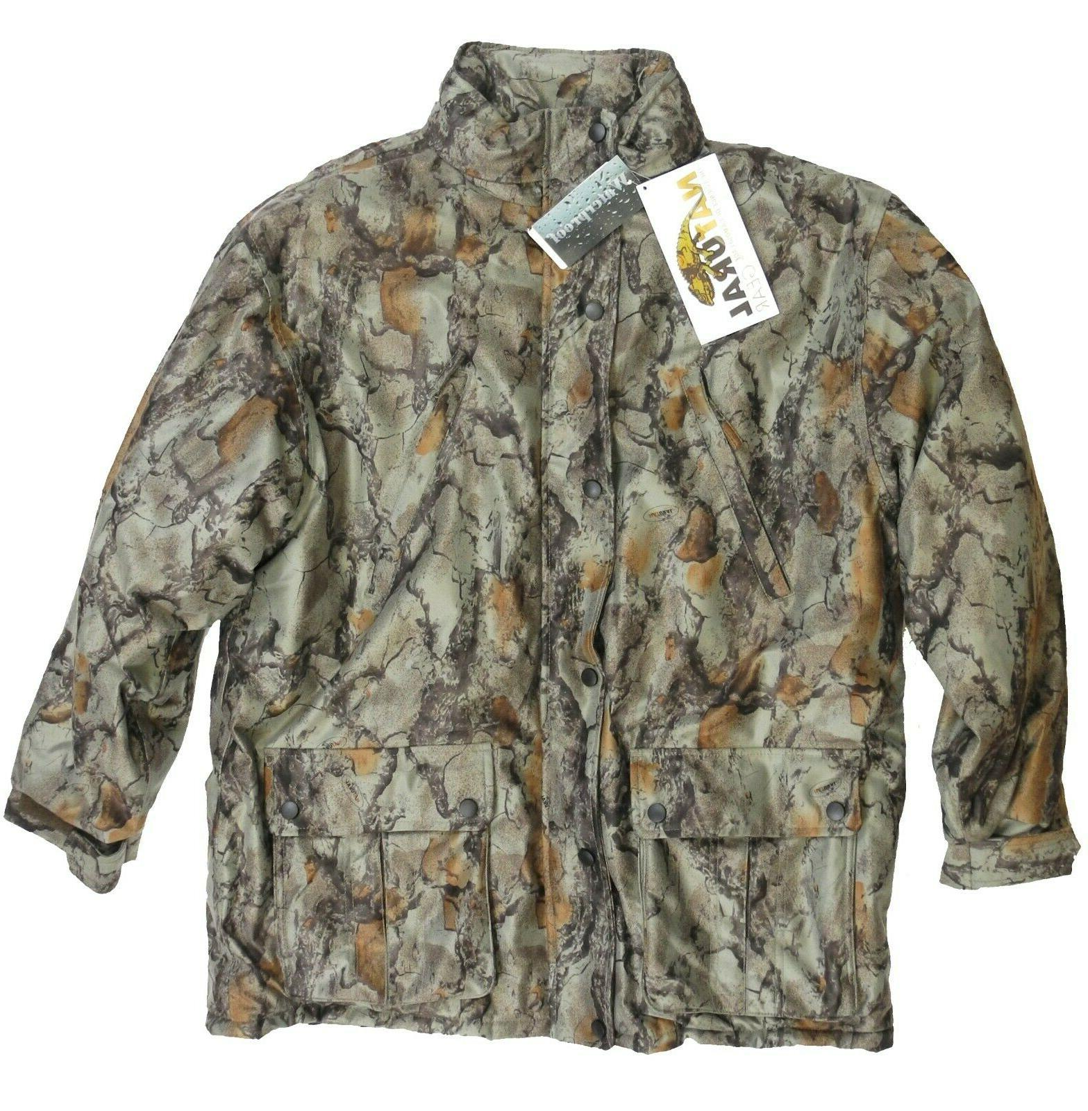 insulated parka xl new nwt camouflage hunting