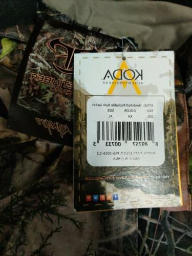 Koda Adventure Gear Youth True Timber Packable Rain