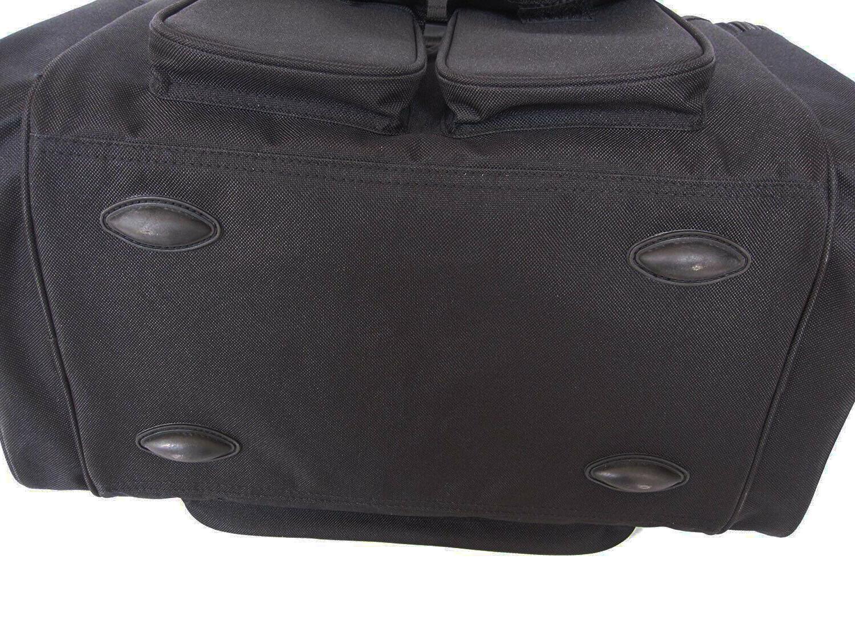 Large Range Black Concealed Pocket